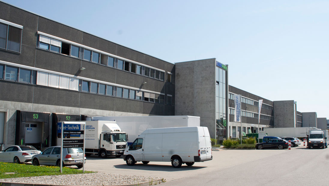 logistikpark garching